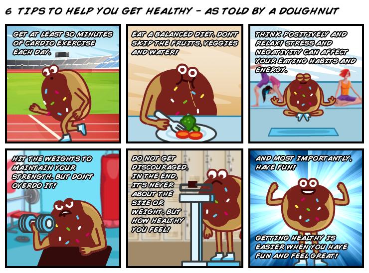 WeChat-Healthy-Doughnut