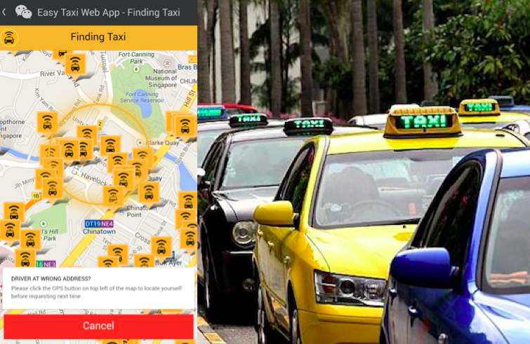 WeChat and Easy Taxi