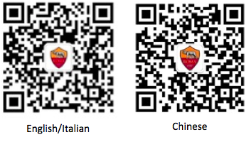 AS Roma QR Codes