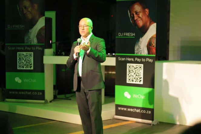 WeChat South Africa, Brett Loubster