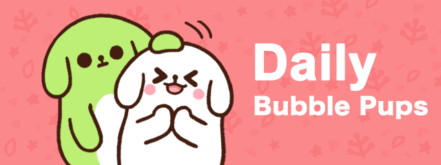 Bubble Pup Banner